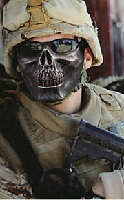 מסכת טרור שדה קיטו ליל כל הקדושים לוחם שלד מחצית פנים