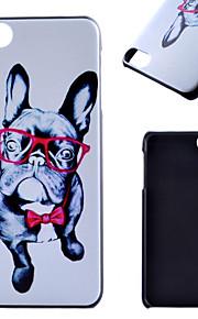 아이팟 터치 5 casefor 눈 개 패턴 프로스트 PC 소재 전화