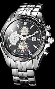 Masculino Relógio Elegante Quartzo Japonês Calendário / Impermeável Lega Banda Prata marca-