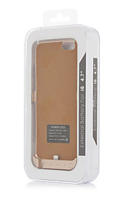 3000mAh External Portable Backup Battery Case for iPhone6(Assorted Colors)