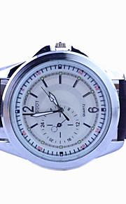 Männer Markenuhr Mode Kleid-Uhr-Quarz beiläufige Uhr