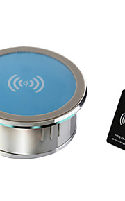 j-kp-ZMC-sam blauwe draadloze lader set voor samsung s4 / 06/05 HTC en andere mobiele apparaten