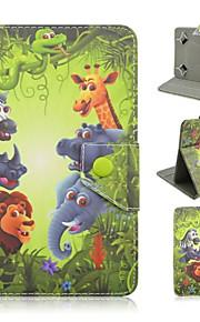 universele olifant beschilderd pu beugel holster voor 7 inch en 10 inch