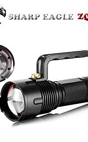LED - Camping/Vandring/Grotte Udforskning/Dagligdags Brug/Cykling/Jagt/Fiskeri/Rejse/Multifunktion/Udendørs - LED Lommelygter (Justerbart