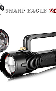 LED Lommelygter LED 3 Tilstand 1400 LumensJusterbart Fokus / Vanntett / Genopladelig / Nedslags Resistent / Nødsituation / Night Vision /