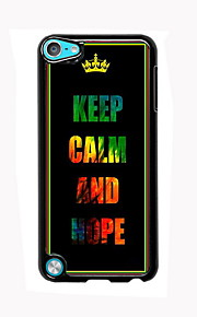 Keep Calm and Hope Design Aluminum High Quality Case for iPod Touch 5
