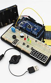 MEGA2560 Experiment Platform /MEGA2560 R3 Basic Learning Kit for Arduino--Black