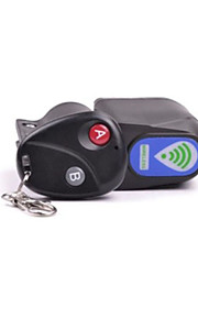 LUGERDA Bicycle Anti-theft Alarm Lock Alarm Lock Mountain Car Anti-theft Device With Remote Control Large
