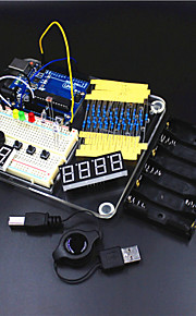 UNO R3 Experiment Platform /UNO R3 Basic Learning Kit for Arduino--Transparent