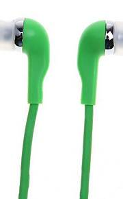 WHF-099 3.5mm Noise-Cancelling Mike In Ear Earphone for Iphone and Other Phones(Assorted Colors)