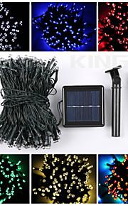 22m 200led solar streng lys julen fin fest lys vanntett lampe