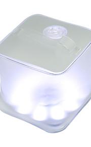 kube solenergi blåse lampe oppblåsbare telt lys