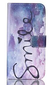 Tuta portafoglio / A portafoglio / con supporto Other Similpelle Difficile Painted Copertura di caso per Samsung GalaxyS6 edge / S6 / S5
