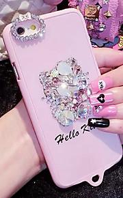 lady®elegant / personlighed telefon sag / cover til iPhone 6 / 6s (4.7) dekoreret med diamanter, flere farver