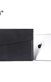 indhylle design slank pu læder laptop sleeve bæretaske taske til MacBook Pro 15,4 '' med nethinden