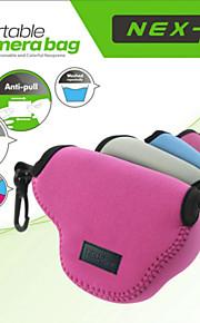 neopine caso protetor macio saco bolsa perfeito para sony nex5 nex5t nex5r nex3n lente 16-50mm