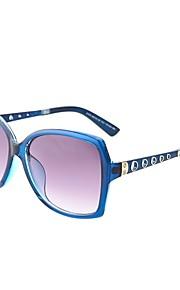 Solbriller kvinder's Klassisk / Moderne / Mode Overdimensionerede Sort / Kaffe / Rød Solbriller / Kørsel Full-Rim