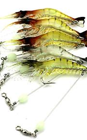 1 pcs Others Craws / Shrimp Random Colors 6.6 g Ounce mm inch,Hard Plastic Bait Casting