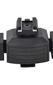 adaptador coldshoe tripartite micnova mq-tha para luzes de vídeo pisca monitores microfones