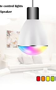 100V ~ 240V RGB LED langaton bluetooth kaiutin lamppu äänikaiuttimesta musiikki soi&valaistus E27 kaukosäätimellä valot