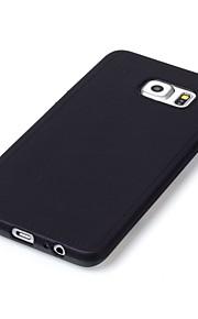 Struttura di cuoio caso molle di TPU per / S6 bordo / bordo S6 Samsung Galaxy S6 più