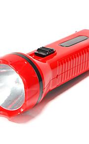 Lommelygte Krop ( Genopladelig / Nødsituation / Lille størrelse ) - LED 2 Tilstand 300 Lumens Andre Soldrevet / AC -