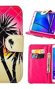 PU étui portefeuille en cuir cas antichoc pour Samsung Galaxy Note 3 / note 4 / note 5 / la note 5 bord