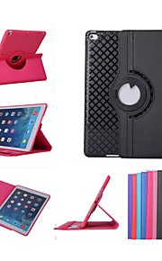 360 Rotation TPU Leather Case Smart Cover Ipad mini3 Flip Cases With Stand Function For Apple iPad Air 2(Assorted Color)