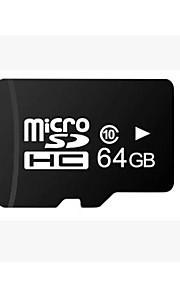 tf 64GB klasse 10 Micro SD SDHC TF flash-hukommelseskort med SD adapter højhastigheds ægte