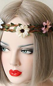 Seda / Poliéster Margaridas Flores artificiais