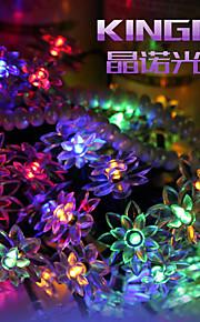koning ro zonne 19.68ft 30led lotus mooie bruiloft decoratie licht buiten waterdicht lichtslingers