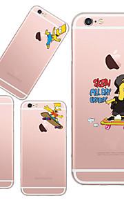 maycari®my schöne Kinder transparente TPU Tasche für iPhone 5 / iphone 5s (verschiedene Farben)