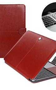 """맥북 에어 11 """"/ 13""""+ 투명 키보드 커버 protecter 1 PU 가죽 노트북 케이스 커버 패션 2"""