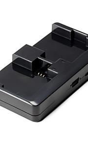 Mini micro USB Doppio Battery Charger for GoPro 4/3+/3