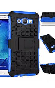 2 en 1 double couleur détachable pc + TPU hybride avec béquille pour Samsung Galaxy A3 / A5 / A7 / A8 (couleurs assorties)