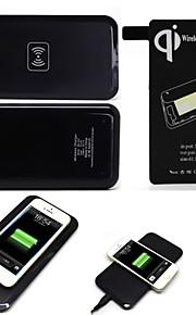 qi draadloos opladen pad + ontvanger voor Samsung Galaxy S5 i9600