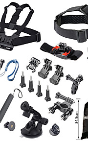 19-In-1 Outdoor Sports Camera Accessories Kit For GoPro Hero 4 / 3+ / 3 / 2 / 1
