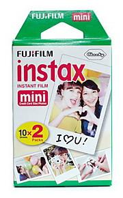 20pcs Fujifilm Instax mini-filme para câmera instantânea mini-7s 8 25 50 90 papel fotográfico filme