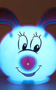 energibesparande LED-söt kanin ljus drivna läge nattlampa lampa