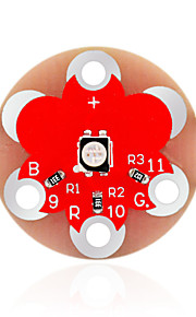 KEYES LilyPad Wearable 3528 RGB Module (Red)
