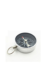 Fulang Mini Metal Outdoor  Compass with Key Hook 35mm CP27