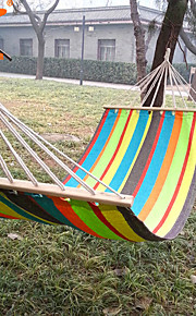 SWIFT Outdoor® 2016 New Hanging Bed Size 280*80cm Spread Foreign Hammock Swing 1.3kgs 80cm Spread Rod