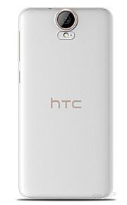 cubierta de silicona trasera transparente para HTC uno e9 más / e9 +