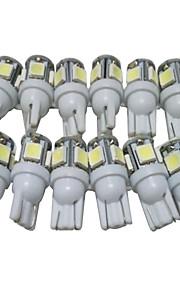une douzaine de t10 ampoules LED voiture conduit de lumière de position W5W lecture de LED lumière intérieure W5W conduit la lumière t10