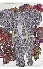 Elephant Pattern Standoff Protective Case for iPad Mini 4