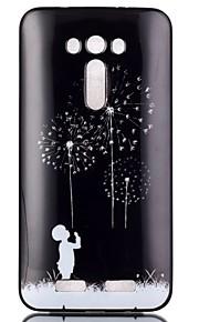 mælkebøtte mønster TPU telefon tilfældet for zenfone 2 laser ze550kl