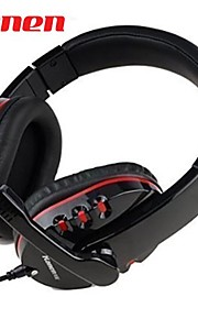 Kanen KM-790 Bass Stereo Headset with Omnidirectional Microphone (Black)