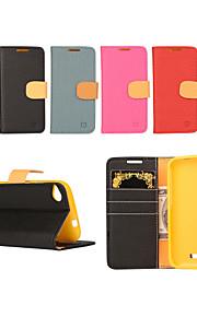 yi tarjeta cai cinturón de cuero bastoncito abierto para d320 htc (colores surtidos)