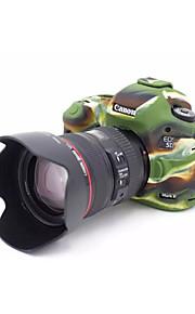 dengpin armadura de borracha de silicone pele tampa da câmera caso saco macio para Canon EOS 5D Mark III 5D3 5ds 5dr