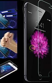 iPhoneのための1個強化ガラス明確なフロントスクリーンフィルム6S / 6